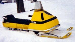 Vintage Ski Doo Tnt