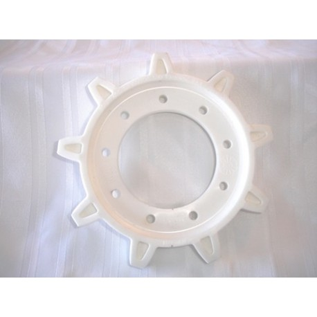 Drive sprocket white  1967 and up