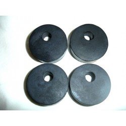 Rubber engine pad kit of 4 motor mount 63-68