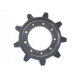 Rear rubber sprocket
